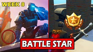 SECRET WEEK 8 BATTLE STAR LOCATION! (LOADING SCREEN) FORTNITE FREE WEEK 8 TIER! (HIDDEN BANNER)