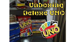 Unboxing Deluxe UNO