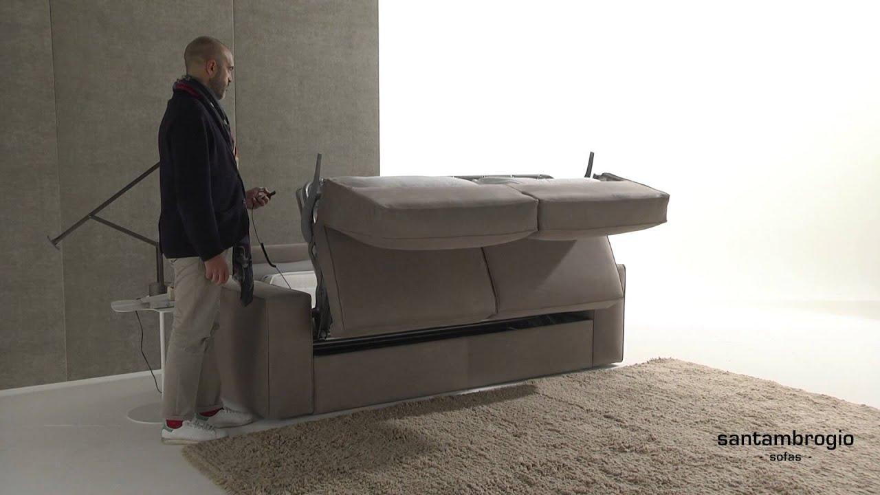 electric sleeper sofa cambuur leeuwarden helmond sport sofascore eleven automatic bed youtube