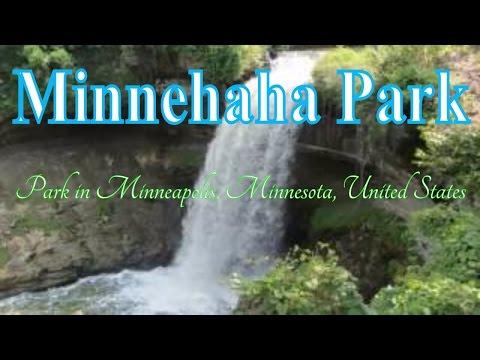 Visiting Minnehaha Park, Park in Minneapolis, Minnesota, United States
