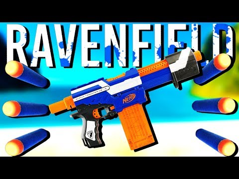 The ULTIMATE Nerf Gun War! - Ravenfield Gameplay - Nerf Mod Ravenfield