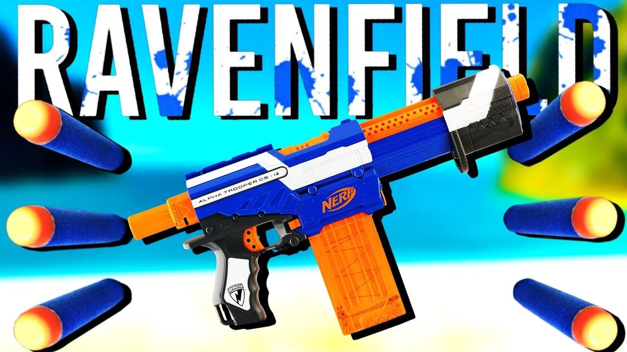 The ULTIMATE Nerf Gun War! - Ravenfield Gameplay - Nerf Mod Ravenfield