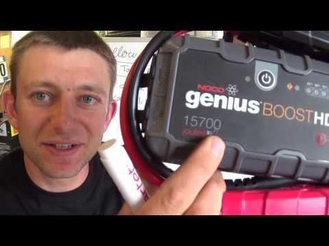Scientific Tool Review #2: NOCO GB70 JumpStarter -Part 1