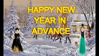 HAPPY NEW YEAR 2018 IN ADVANCE Wishes Dance Song Animation Status Happy New Year 2018