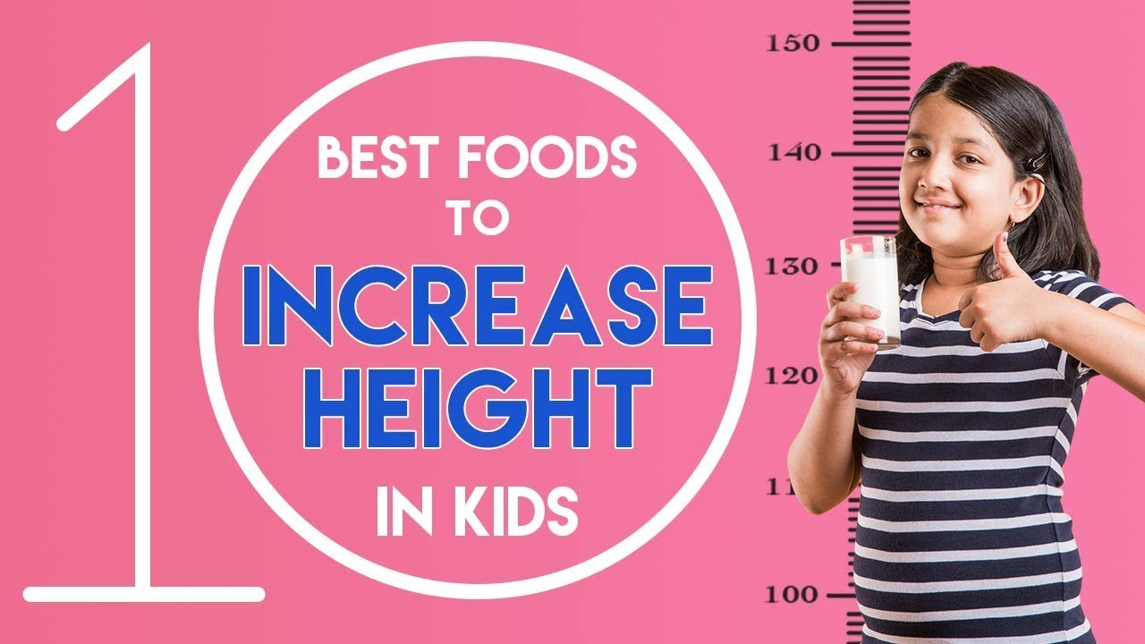 Simplified Diet and Foods to Increase Height in Children