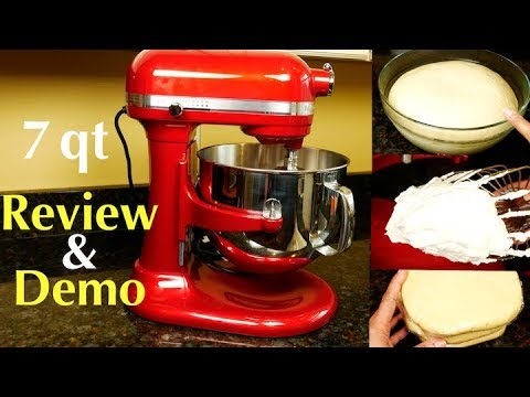 Kitchenaid 7 Quart Pro Line Stand Mixer Review