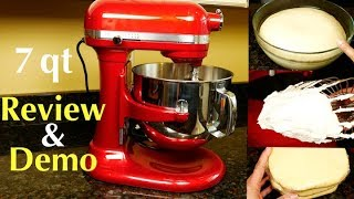 KitchenAid 7 Quart Pro Line Stand Mixer Review