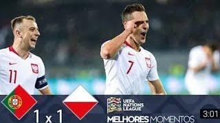 Portugal 1 x 1 Polônia | Melhores Momentos & gols (HD) - 20/11/2018 - Amistoso completo