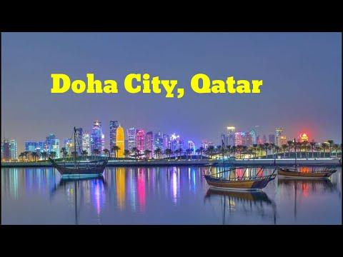 Beautiful view of Doha city, Qatar