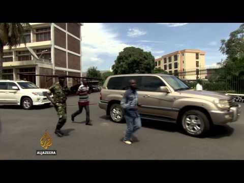 Burundi's Nkurunziza makes first appearance since coup attempt