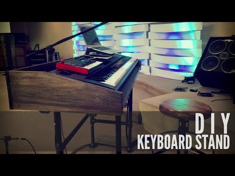 DIY keyboard stand to simplify my rig