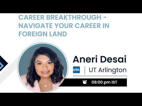 Navigate your career in foreign land   Mentor Conference 2021