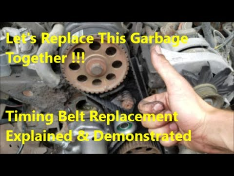 Ford 2.3 Timing Belt Replacement How To (& Tensioner Tool Explained)