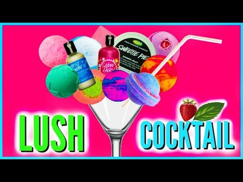 TRYING INSTAGRAM TREND - LUSH COCKTAIL -Super Satisfying!!!