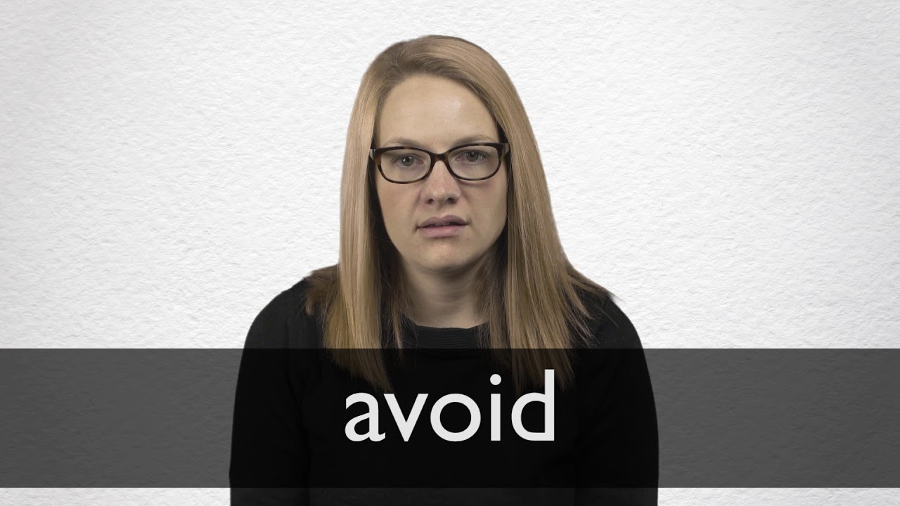 How to pronounce AVOID in British English