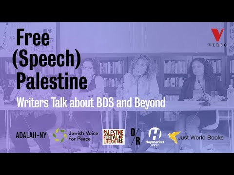 Free (Speech) Palestine: Writers Talk about BDS and Beyond