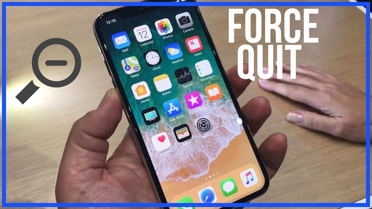 how to quit apps on iphone how to quit apps on iphone x apps completely 18961
