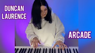Duncan Laurence - Arcade (piano cover) видео