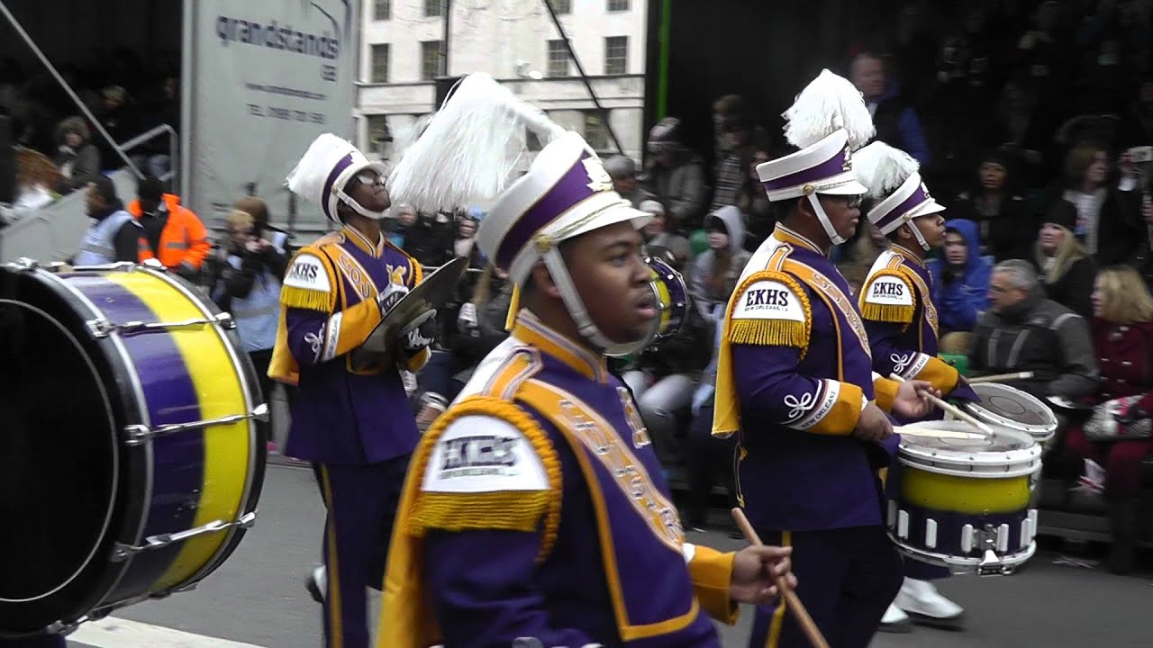 Edna Karr High School Marching Band Coming To America and ... |Edna Karr High School Band