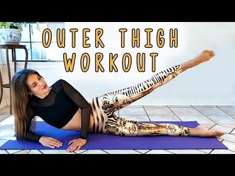 Long, Lean Legs! Outer Thigh Workout for Beginners, at Home Fitness Routine