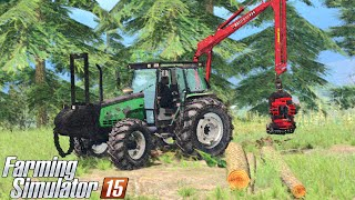 Farming Simulator 15 - Valmet 6600 Forest Edition