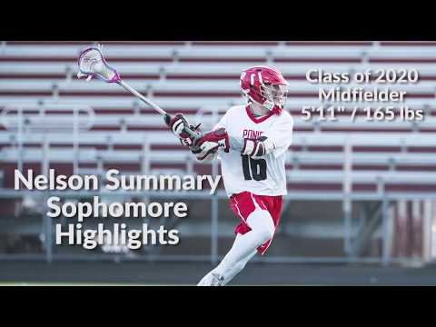 Nelson Summary Sophomore Highlights (Class of 2020)