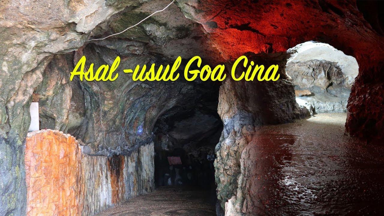 Asal Usul Goa Cina Di Pantai Goa Cina Malang Youtube