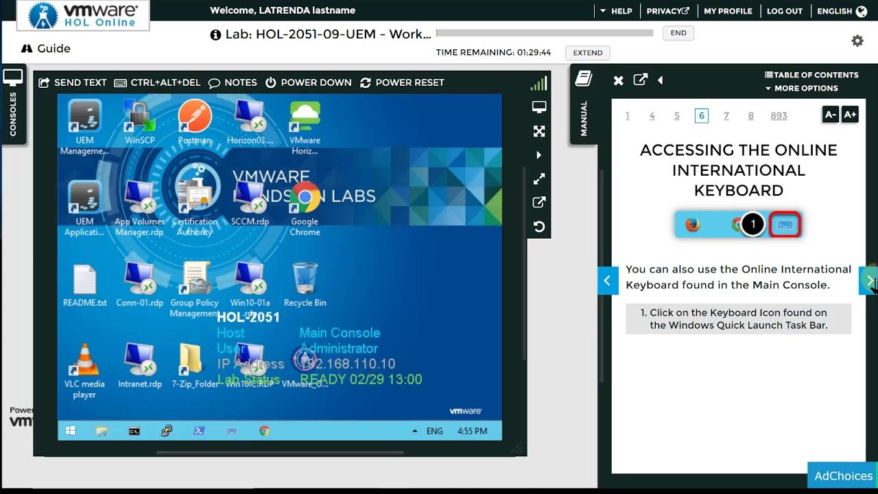 Virtual Machine Online