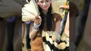 wanita Borneo Kalimantan utara