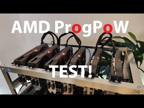 6 X Asus RX 570 4GB ProgPoW Gangnam Ethereum Testnet TEST!