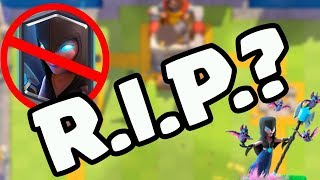 R.I.P. NIGHT WITCH? Clash Royale Balancing Update INCOMING!
