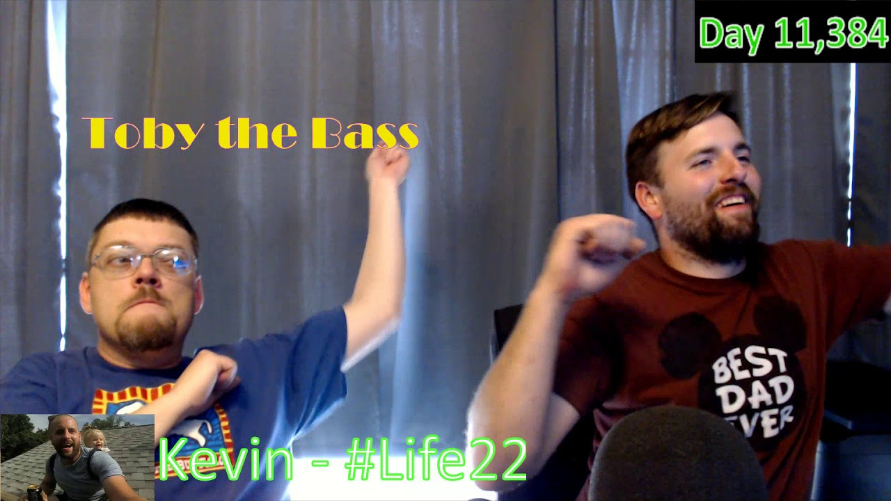 Life22: Studio Sound Check with Toby (Day 11,384[2])