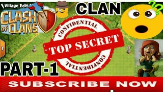 Top Secret Clan Of (COC) Clash Of Clans in Hindi | Hidden Secret Clan Part-1 |Clash With Bhargav