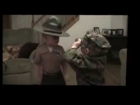 Kids and the Military   5 Awesome Clips