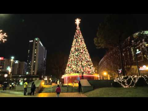 Atlanta Olympic Centennial Park: Christmas 4K UHD