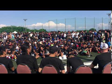 Rugby coaching clinic with Richie McCaw in Yokohama