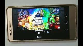 Avengers Infinity War || Download For Android || Gta - SA Mod || New Textuers
