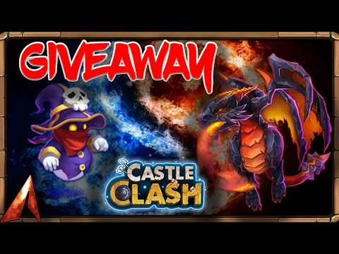 Castle Clash Account Giveaway WINNER! Moltanica + Spirit Mage!