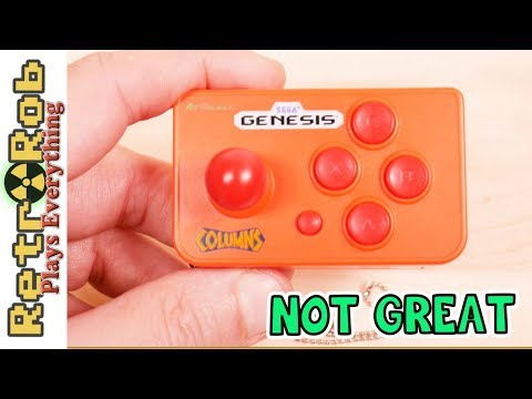 AtGames Sega Genesis Nano Plug And Play Unboxing, Gameplay And Thoughts