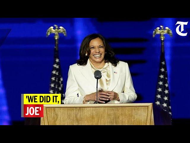 We Did It Joe Kamala Harris Tweets Video