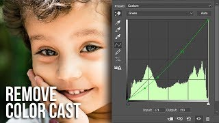 The Curves Trick to Remove Color Cast in Photoshop