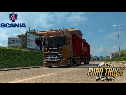 NEW UPDATE Euro Truck Simulator 2 | Scania S in Milano! | NEW MAP UPDATE + NEW SCANIA! | Gameplay