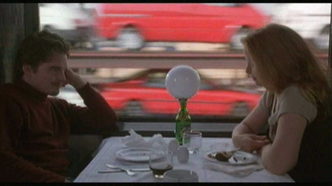 Wallpaper Hd Snow Falling Before Sunrise Jesse Asks Celine To Get Off The Train