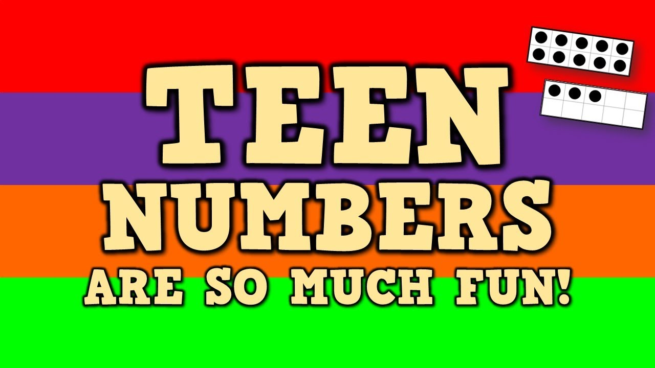 TEEN NUMBERS ARE SO MUCH FUN!  (Identifying teen numbers & quantities)