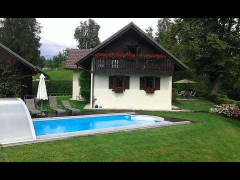 Holiday house with a pool, Ljubljana, Slovenia