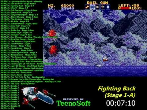 Genesis: Thunder Force IV Soundtrack