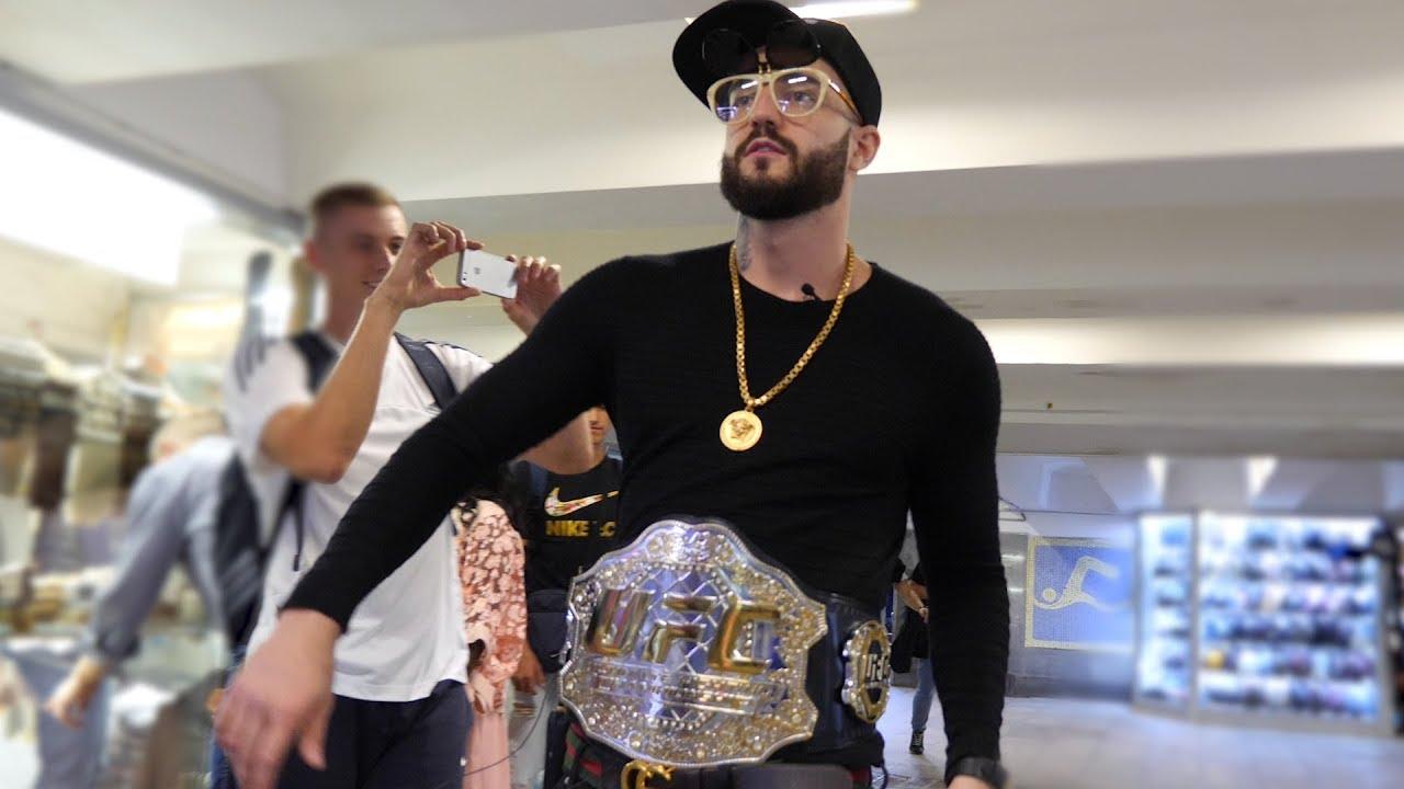 Первый UFC в Москве. GUCCI сломал позвоночник.