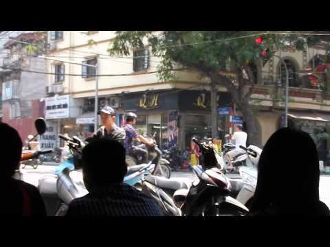 Hanoi Coffee Shop Reflections - Hanoi, Vietnam