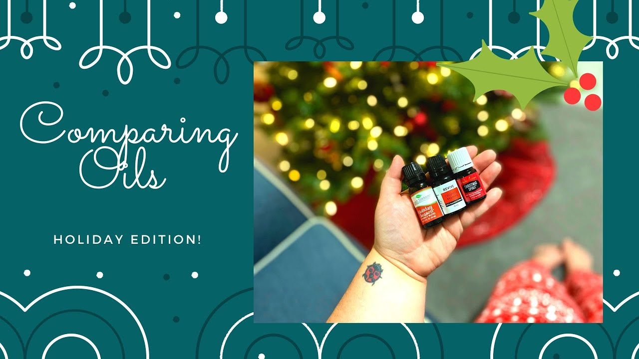 Download Christmas Essential Oil Blend Comparison| Plant Therapy vs. Young Living vs. Revive