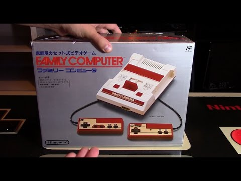 Family Computer (FAMICOM) Unboxing | Nintendo Collecting